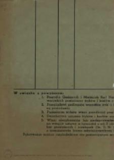 Zarządzenie Prezydium Wojewódzkiej Rady Narodowej w Gdańsku w sprawie urzędowego uznawania tryków i kozłów w 1954 r.