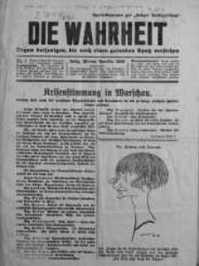 Die Wahrheit 1926