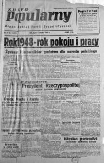 Kurier Popularny. Organ Polskiej Partii Socjalistycznej 1948, nr 2