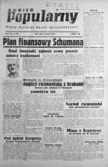 Kurier Popularny. Organ Polskiej Partii Socjalistycznej 1948, nr 3