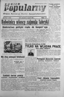 Kurier Popularny. Organ Polskiej Partii Socjalistycznej 1948, nr 12