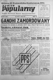 Kurier Popularny. Organ Polskiej Partii Socjalistycznej 1948, nr 31