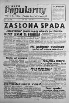 Kurier Popularny. Organ Polskiej Partii Socjalistycznej 1948, nr 37