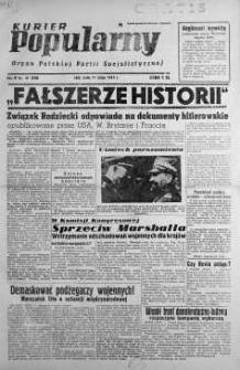 Kurier Popularny. Organ Polskiej Partii Socjalistycznej 1948, nr 41