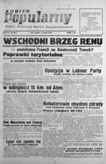 Kurier Popularny. Organ Polskiej Partii Socjalistycznej 1948, nr 42