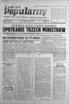 Kurier Popularny. Organ Polskiej Partii Socjalistycznej 1948, nr 45
