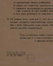 Obwieszczenie. 20 maja 1946 r.