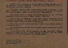 Obwieszczenie. 8 maja 1946 r.