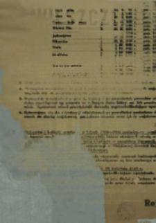 Obwieszczenie Rejonowego Komendanta Uzupełnień Piła o częściowej rejestracji rezerw osobowych na terenie powiatu pilskiego