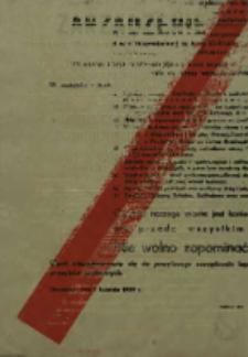 Zarządzenie Prezydium Miejskiej Rady Narodowej w Grudziądzu w sprawie drugiego konkursu czystości i estetyki o miano przodującego miasta i wiosennej akcji sanitarno-porządkowej