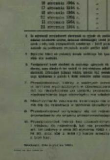 Obwieszczenie o rejestracji przedpoborowych mężczyzn urodzonych w 1946 roku