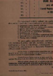 Obwieszczenie o drugiej rejestracji mężczyzn urodzonych w 1936 roku