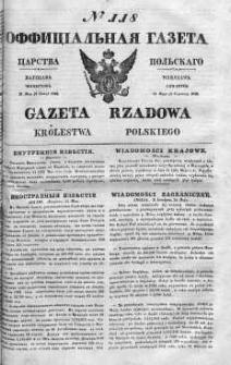 Gazeta Rządowa Królestwa Polskiego 1842 II, No 118