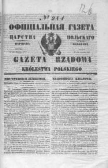 Gazeta Rządowa Królestwa Polskiego 1847 IV, No 284
