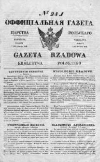 Gazeta Rządowa Królestwa Polskiego 1840 IV, No 281