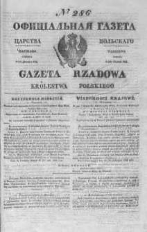 Gazeta Rządowa Królestwa Polskiego 1844 IV, No 286