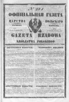 Gazeta Rządowa Królestwa Polskiego 1846 IV, No 271