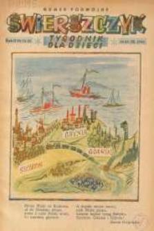 Świerszczyk: Tygodnik dla dzieci 1946, nr 34-35
