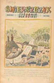 Świerszczyk: Tygodnik dla dzieci 1948, Nr 3