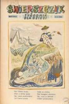 Świerszczyk: Tygodnik dla dzieci 1948, Nr 41
