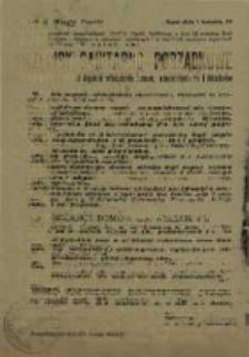 Przepisy sanitarno-porządkowe obowiązujące w mieście Sopocie właścicieli domów, administratorów i lokatorów.