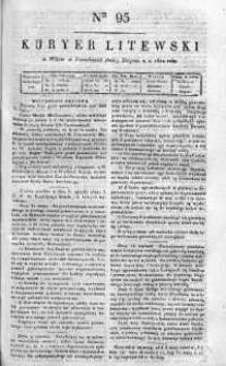Kuryer Litewski 1820 III, No 95