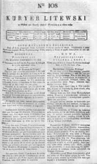 Kuryer Litewski 1820 III, No 108