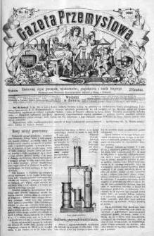 Gazeta Przemysłowa. Ilustrowany organ przemysłu, rękodzielnictwa i handlu krajowego 1866 IV, No 51