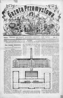 Gazeta Przemysłowa. Ilustrowany organ przemysłu, rękodzielnictwa i handlu krajowego 1866, No 57