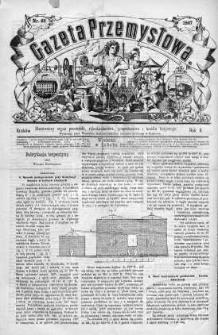 Gazeta Przemysłowa. Ilustrowany organ przemysłu, rękodzielnictwa i handlu krajowego 1866, No 66
