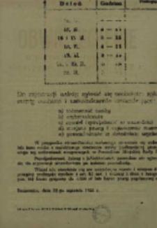 Obwieszczenie o pierwszej rejestracji mężczyzn urodzonych 1937 r.