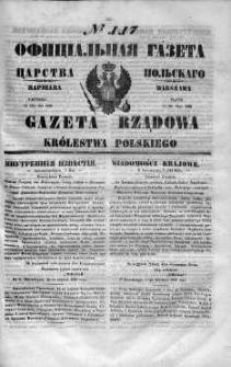 Gazeta Rządowa Królestwa Polskiego 1848 II, No 117