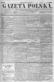 Gazeta Polska 1863 III, No 170