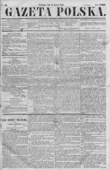 Gazeta Polska 1866 I, No 47