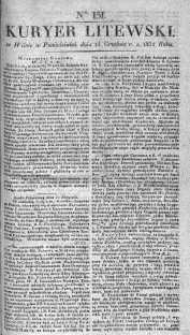 Kuryer Litewski 1831 IV, No 151