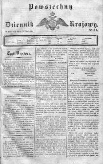 Powszechny Dziennik Krajowy 1830 I, Nr 51