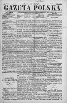 Gazeta Polska 1870 IV, No 267