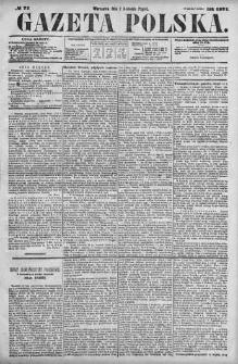Gazeta Polska 1871 II, No 77
