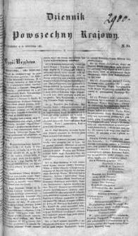 Dziennik Powszechny Krajowy 1831 I, Nr 29