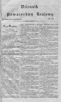 Dziennik Powszechny Krajowy 1831 III, Nr 191