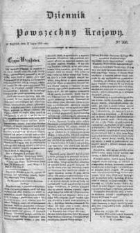 Dziennik Powszechny Krajowy 1831 III, Nr 200