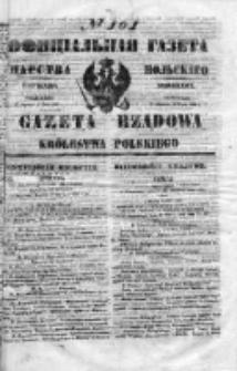 Gazeta Rządowa Królestwa Polskiego 1853 II, No 101