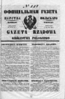 Gazeta Rządowa Królestwa Polskiego 1853 II, No 117