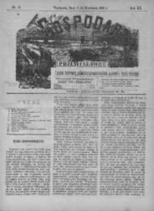 Gospodarz i Przemysłowiec 1890 II, Nr 16