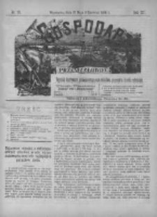 Gospodarz i Przemysłowiec 1890 II, Nr 23