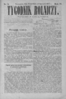 Tygodnik Rolniczy. Pismo wszelkim gałęziom przemysłu rolnego poświęcone 1875 I, Nr 2