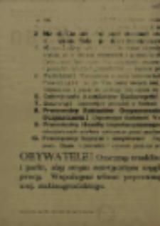 Obywatele miast i wsi woj. Stalinogrodzkiego!
