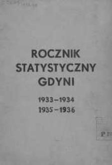 Rocznik Statystyczny Gdyni 1933-1934, 1935-1936