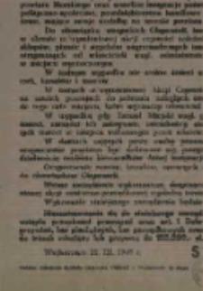 """Zarządzenie Starosty Powiatowego powiatu Morskiego w sprawie """"Akcji Czystości"""""""