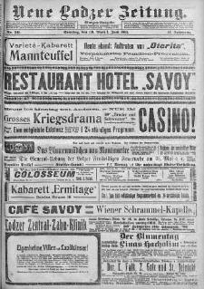 Neue Lodzer Zeitung 1913 m-c 6